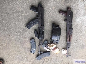 Photos: Two notorious armed robbers gunned down, as Rivers State Police foil armed robbery operation